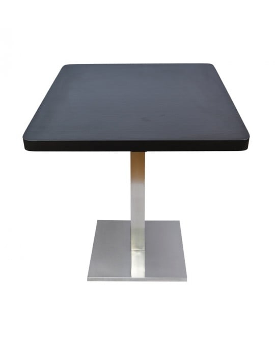 Table Intérieure Steel Square Coco Restaurant